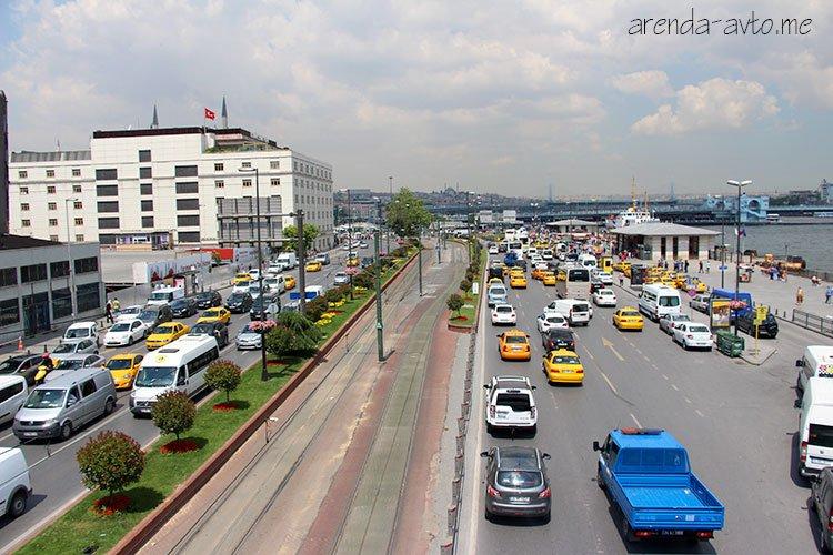 Пробки в Турции