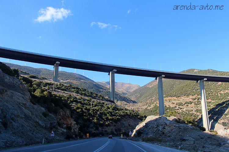Платная дорога в Турции