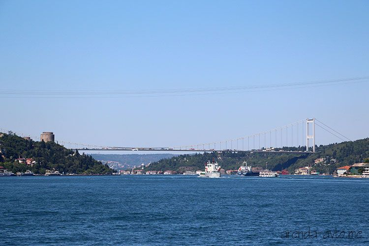 Платные мосты в Турции
