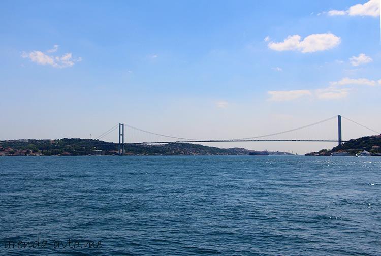 Платный Босфорский мост