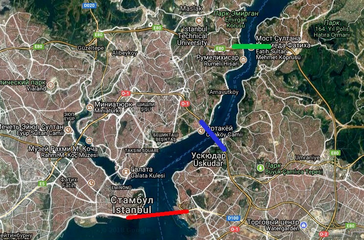 Платные дороги в Стамбуле