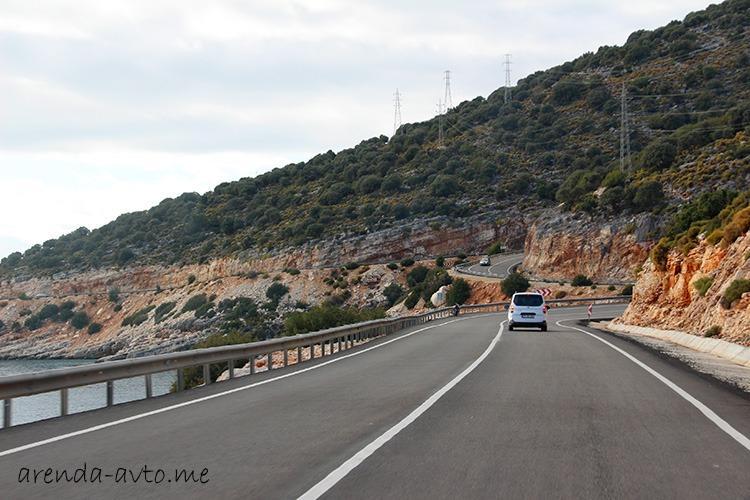 Дорога от Финике до Демре