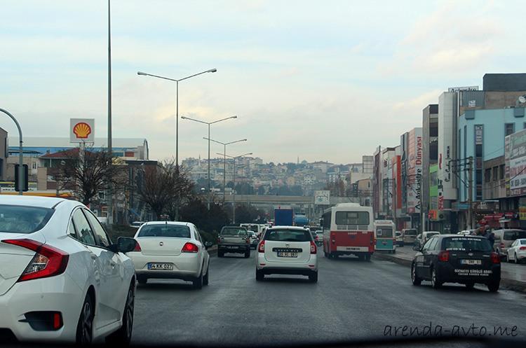 Пробки в Измире