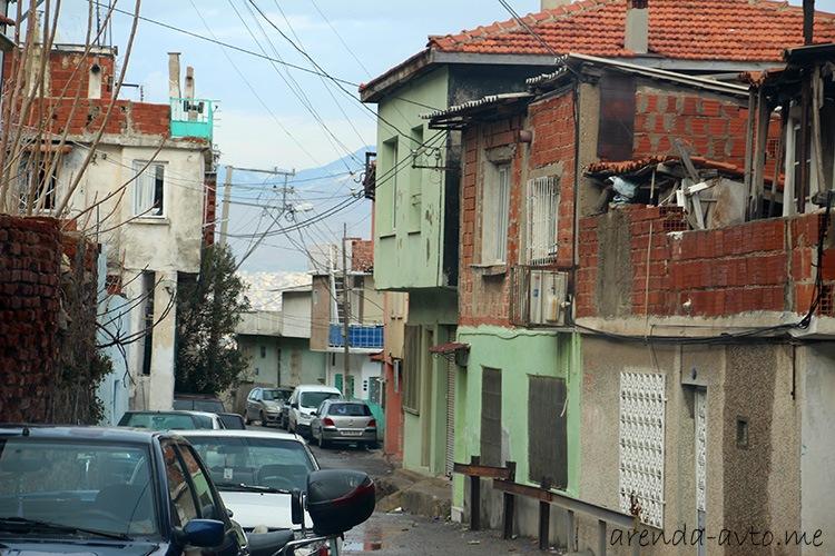Трущобы в Измире