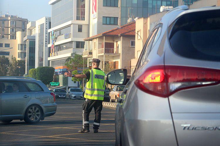 Пробки на Кипре
