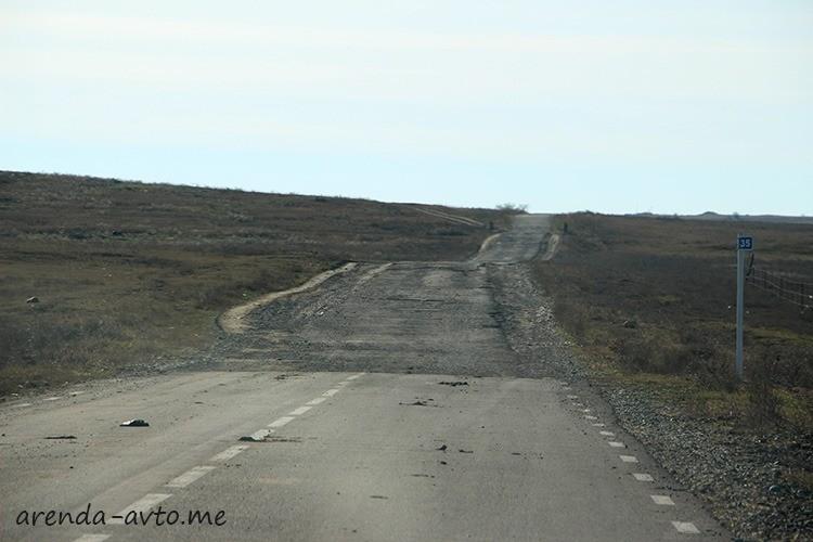 Плохая дорога в Грузии