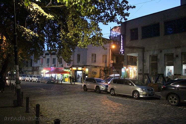 Прокат машины в Тбилиси