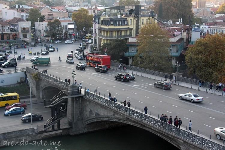 Дороги в Тбилиси