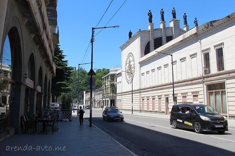 Улица в центре Кутаиси