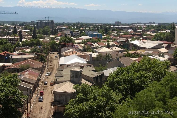 Ремонт дороги в Кутаиси