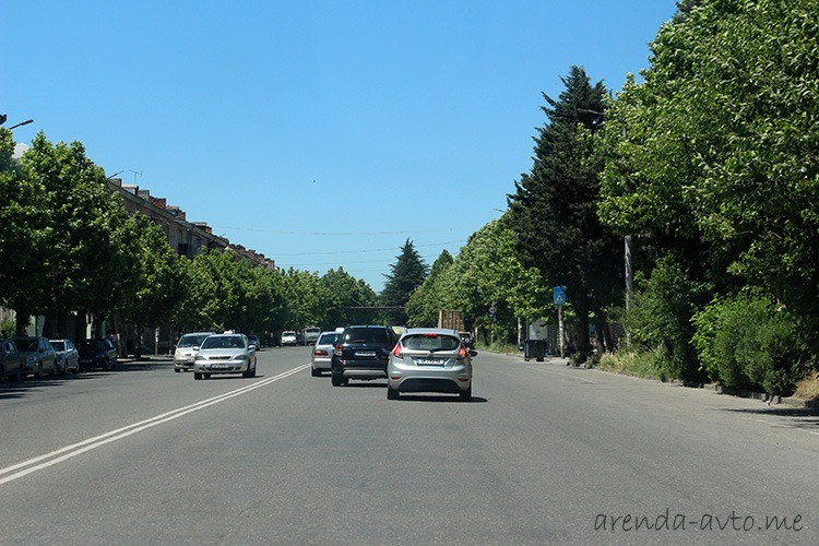 Дороги в Кутаиси, Грузия