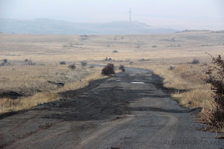 Плохие дороги в Армении