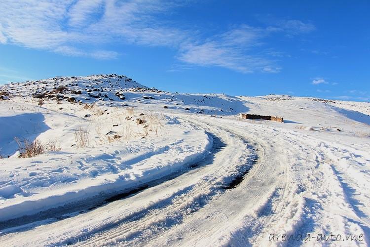 Снег в Армении